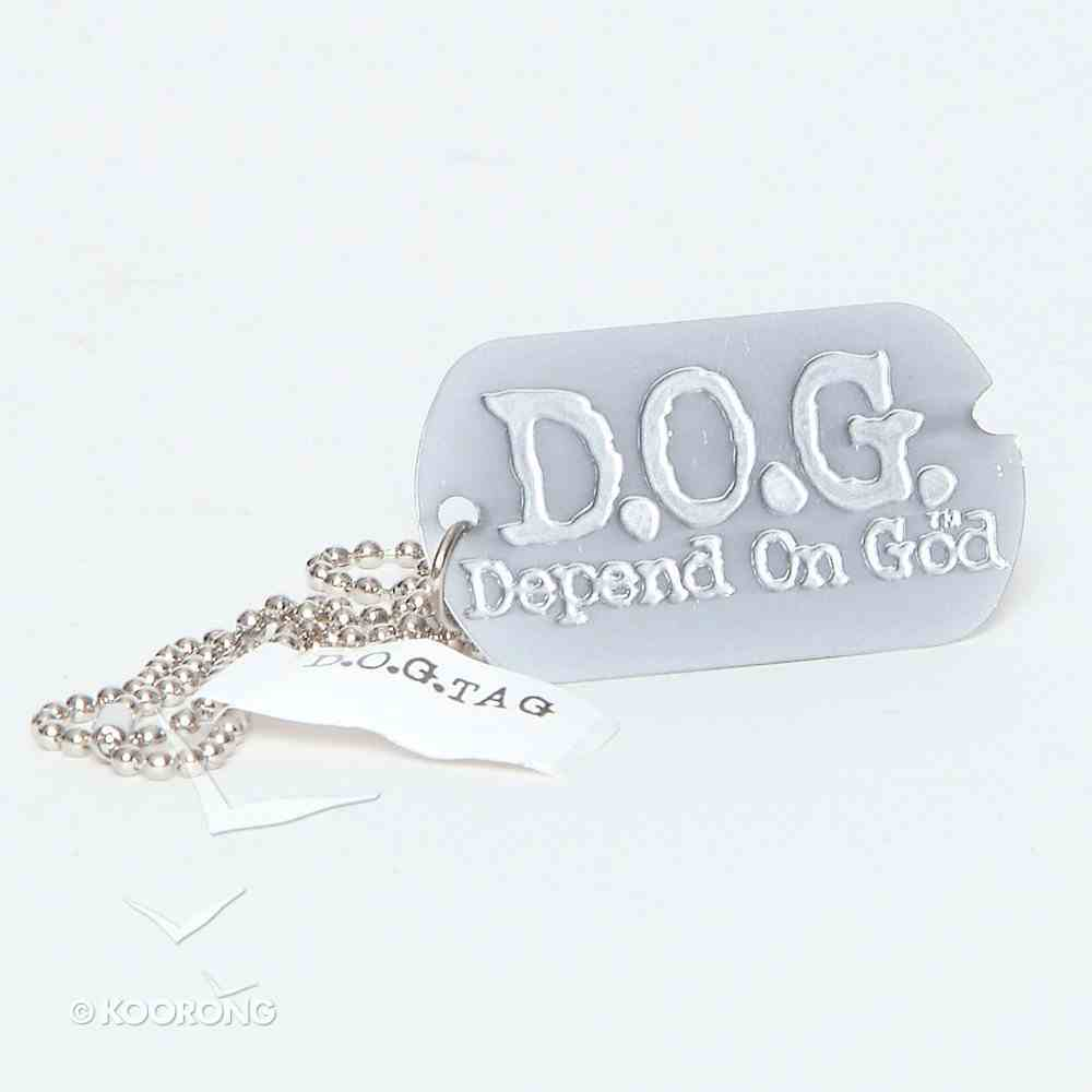 D.O.G. Tag Chain Necklace Jewellery