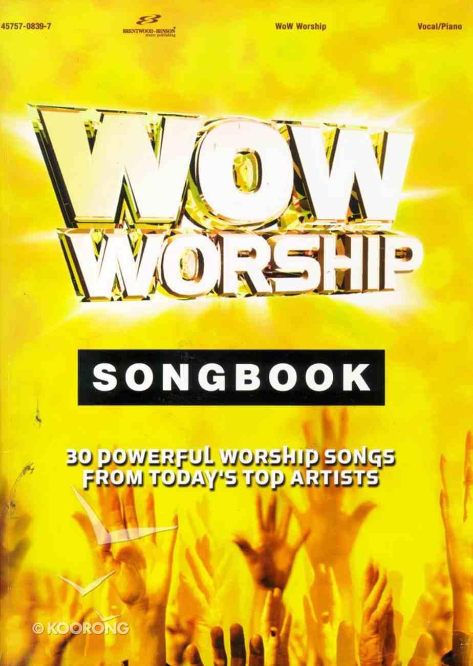 Wow Worship Yellow Music Book Paperback