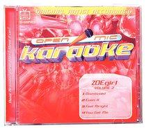 Album Image for Karaoke Zoe Girl (Accompaniment) (Vol 2) - DISC 1