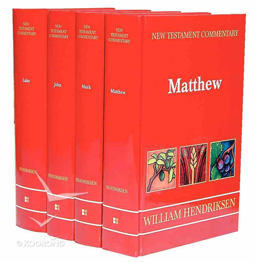 Gospels (4 Volume Set) (New Testament Commentary Series) Hardback