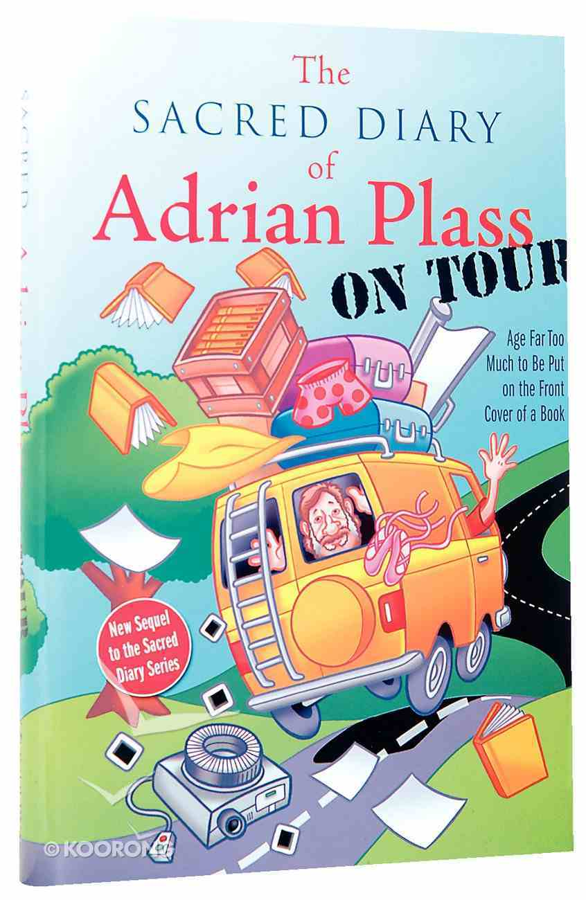 The Sacred Diary of Adrian Plass on Tour Hardback