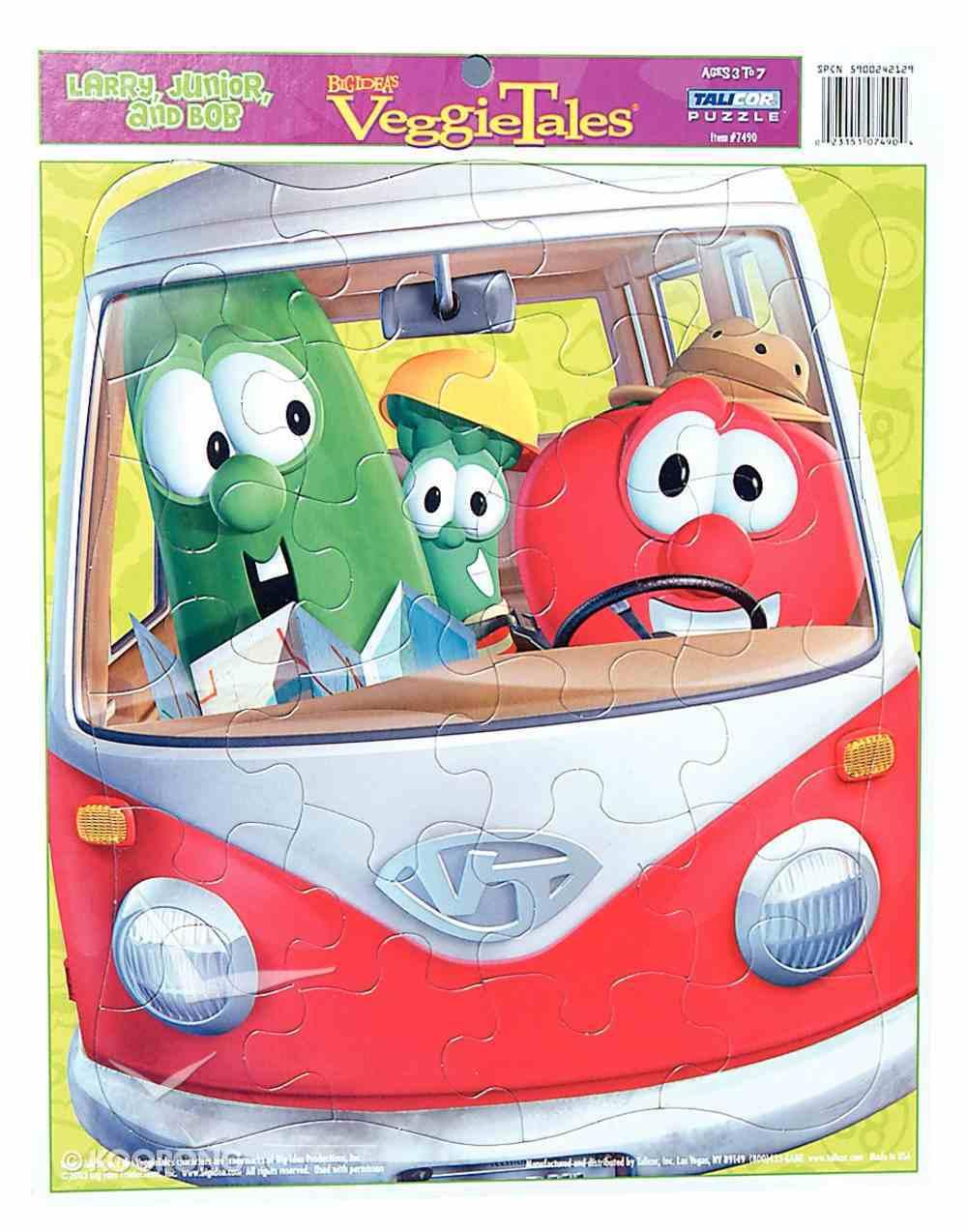 Larry, Junior, and Bob (24 Pieces) (Veggie Tales (Veggietales) Series) Game