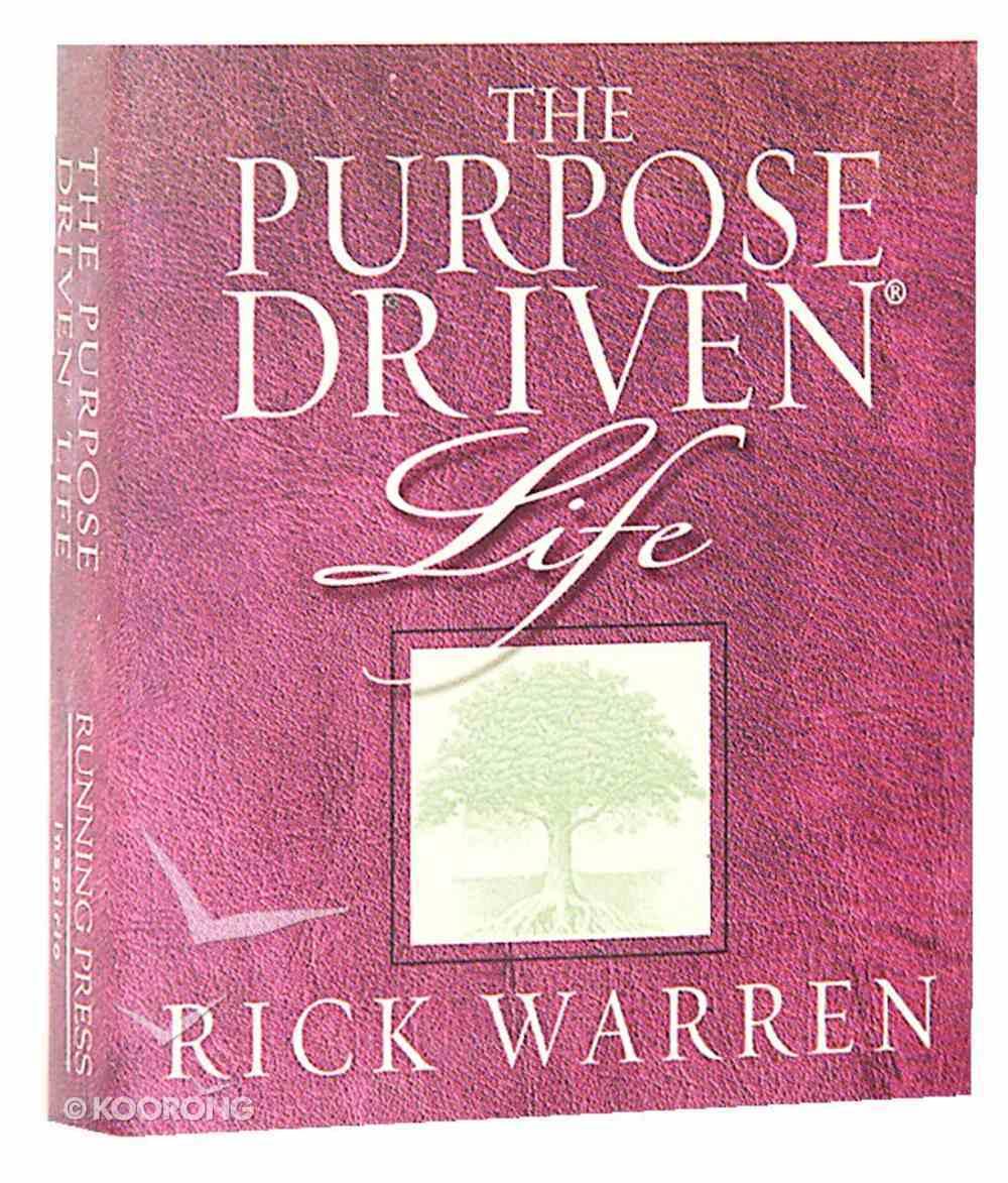 Purpose Driven Life (Mini) Hardback