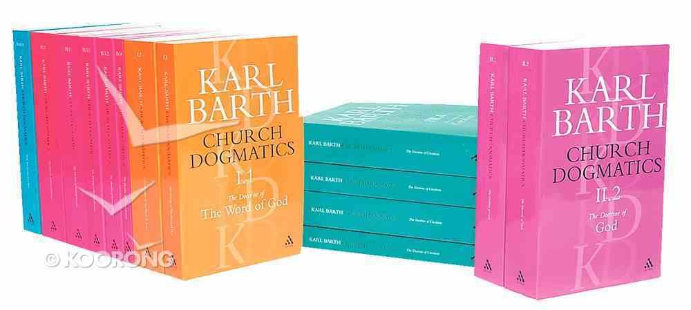 Church Dogmatics Complete Paperback Set (14 Vol Set) Pack