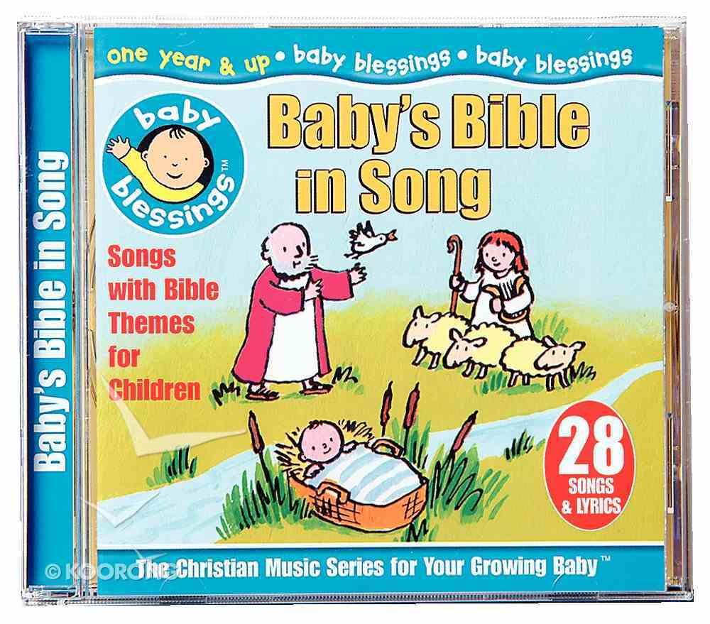 Baby Blessings: Baby's Bible in Song CD
