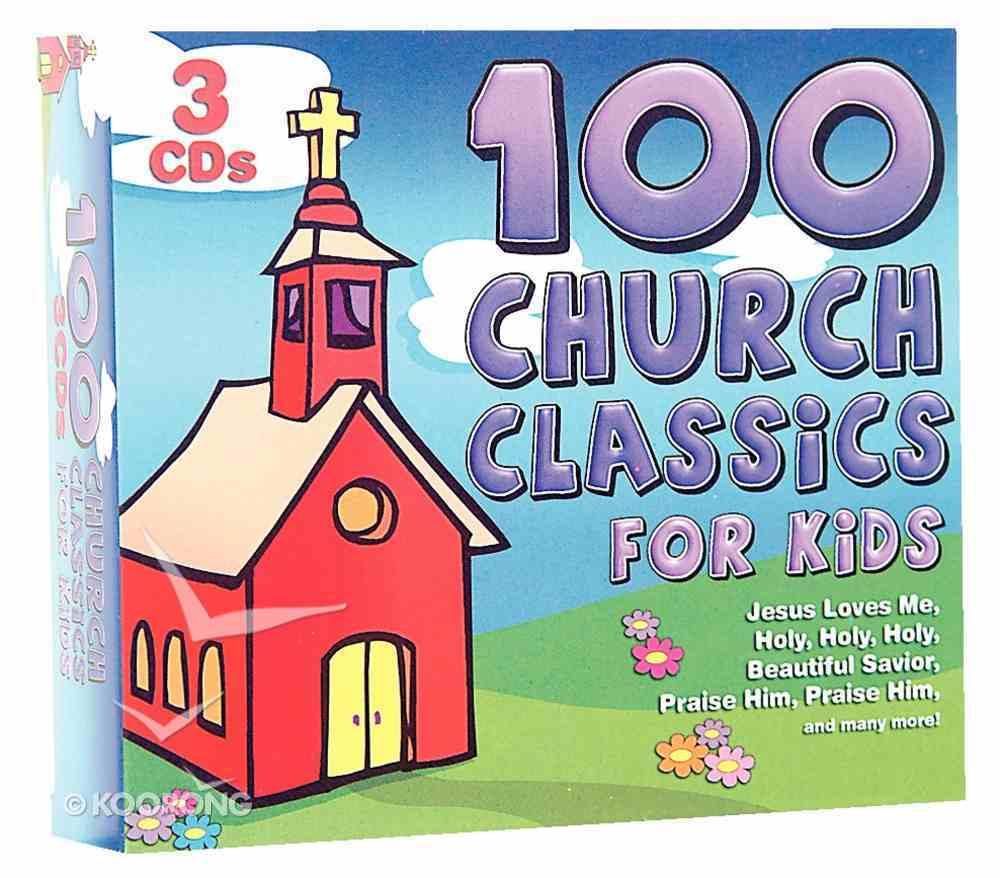 100 Church Classics For Kids CD