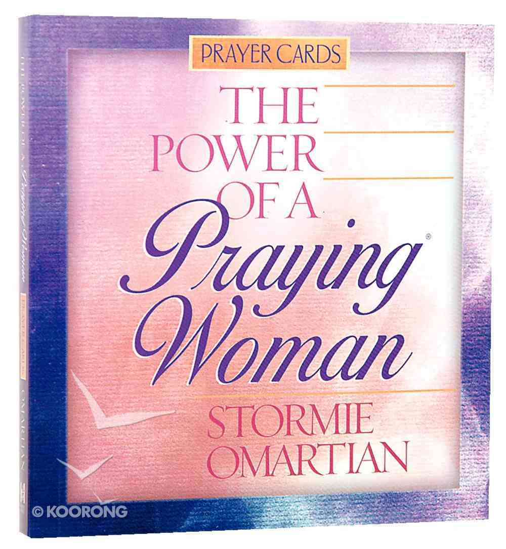 Prayer Cards: The Power of a Praying Woman Chart/card