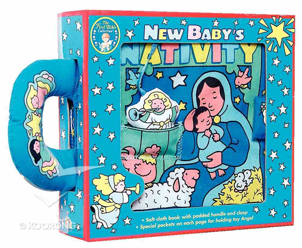 First Bible Collection: New Baby's Nativity Novelty Book