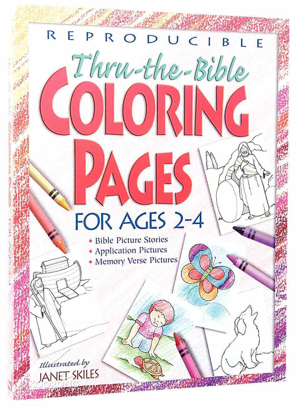 - Thru-The-Bible Coloring Pages For Ages 2-4 By Janet Skiles Koorong