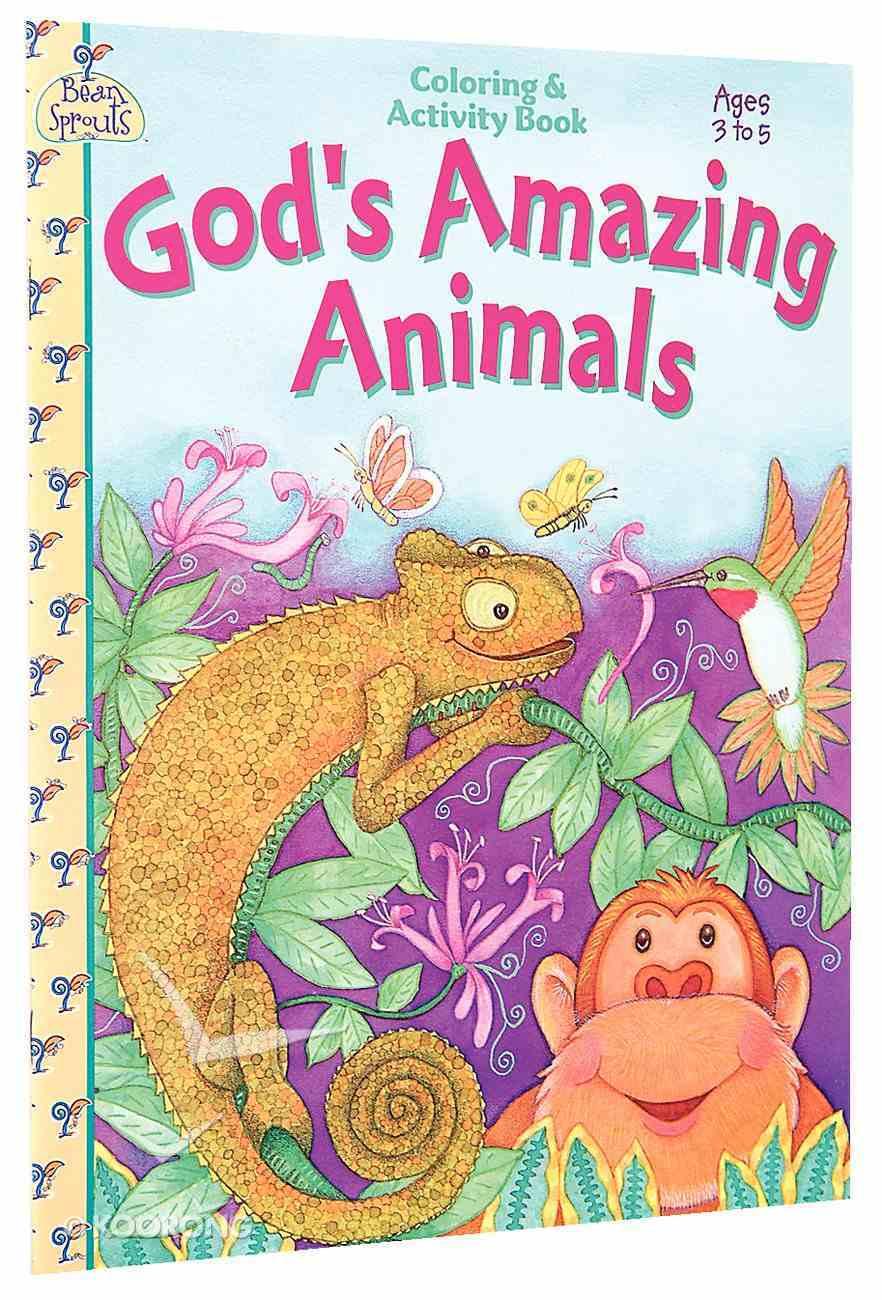 Colouring & Activity: God's Amazing Animal Paperback