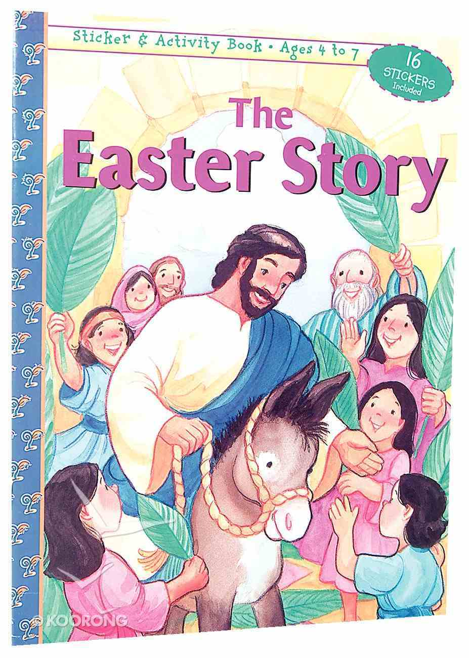 The Easter Story (Sticker & Activity Series) Paperback