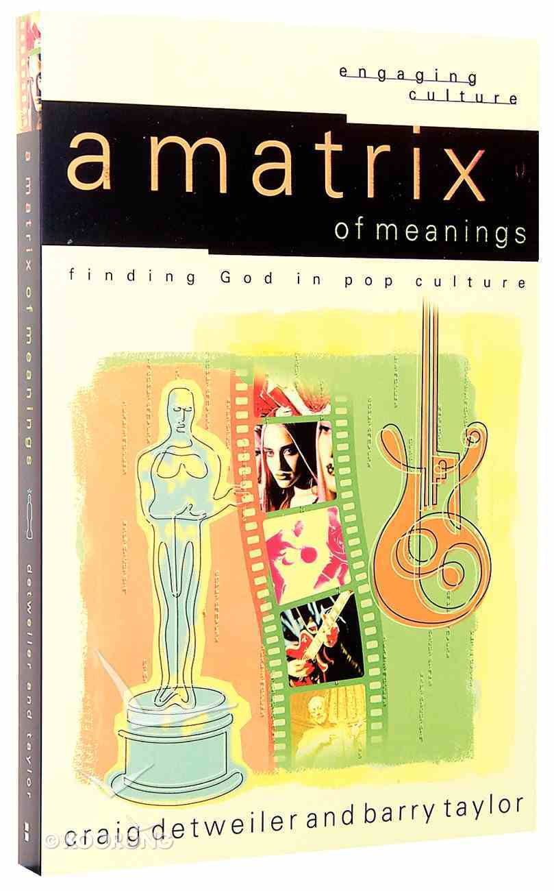 Matrix of Meanings, A: Finding God in Pop Culture (Engaging Culture Series) Paperback