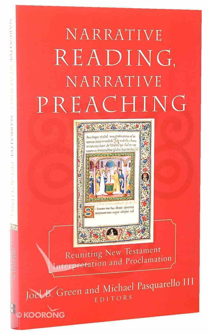 Narrative Reading Narrative Preaching Paperback