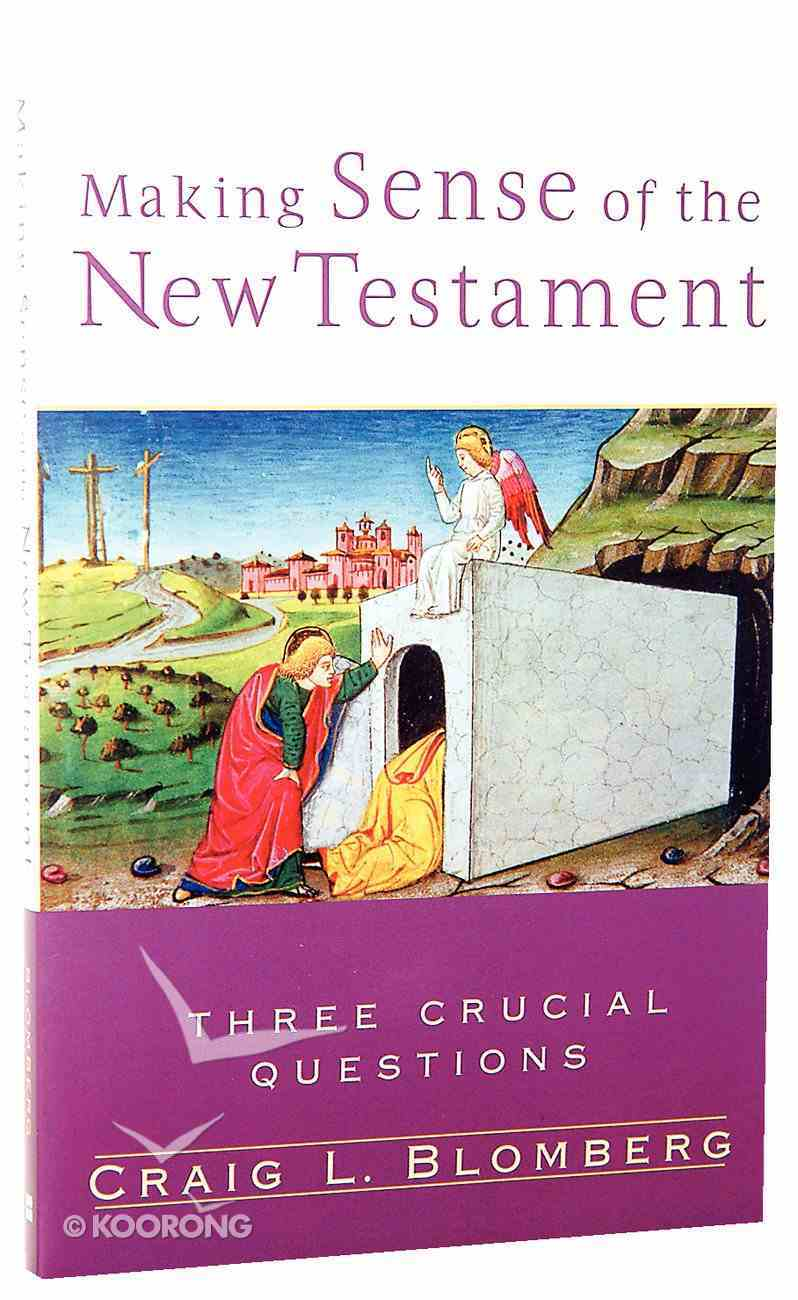 Making Sense of the New Testament (Three Crucial Questions Series) Paperback