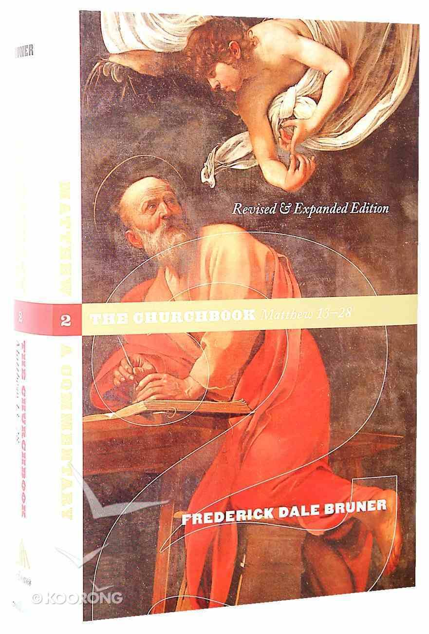 Matthew: The Churchbook (Vol 2) Hardback