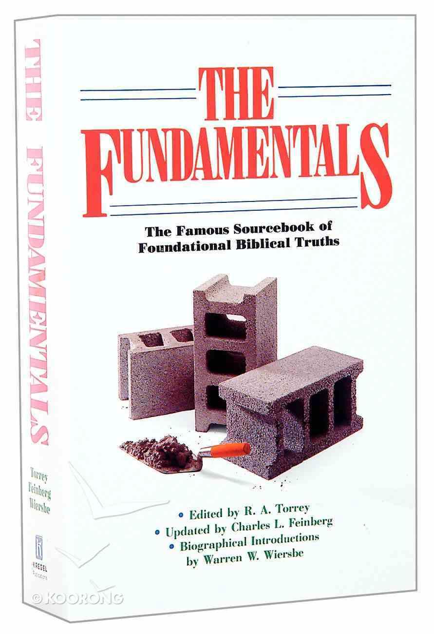 The Fundamentals Paperback