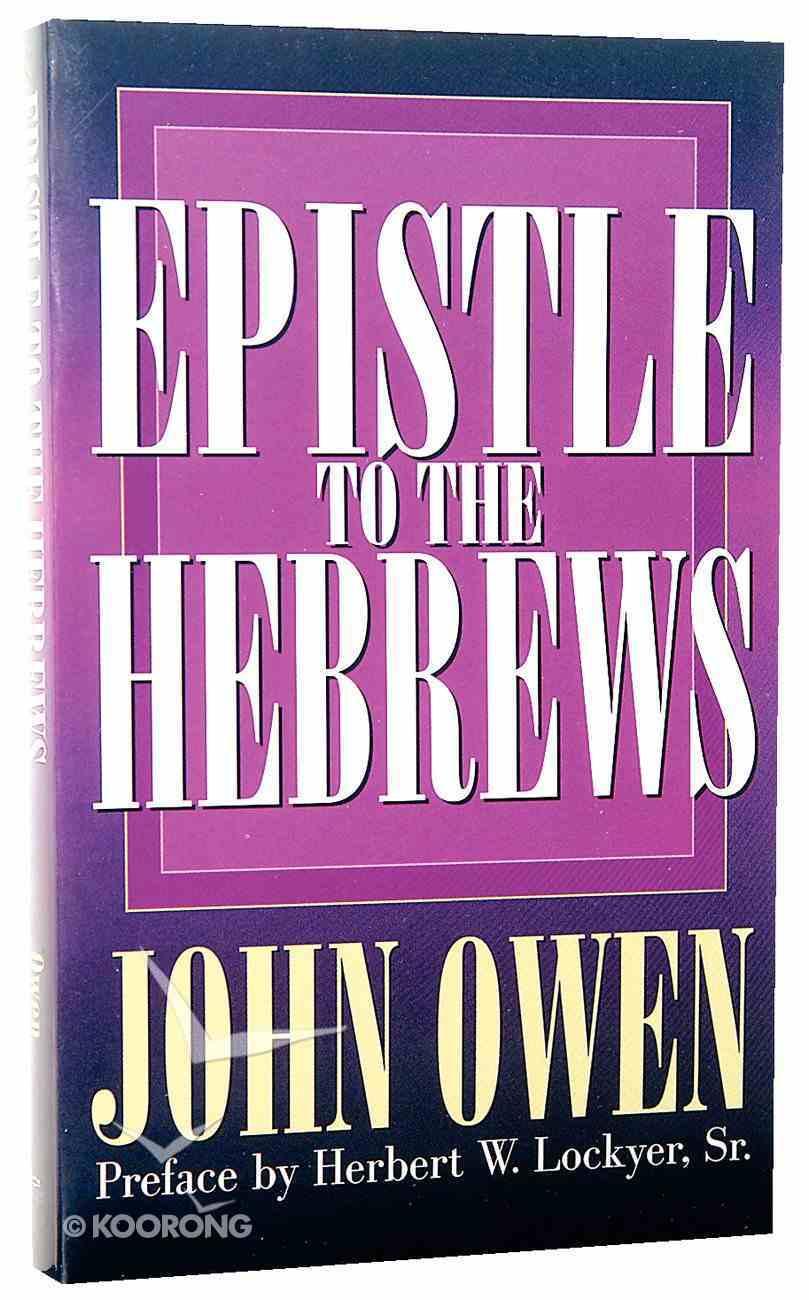 Epistle to the Hebrews Paperback