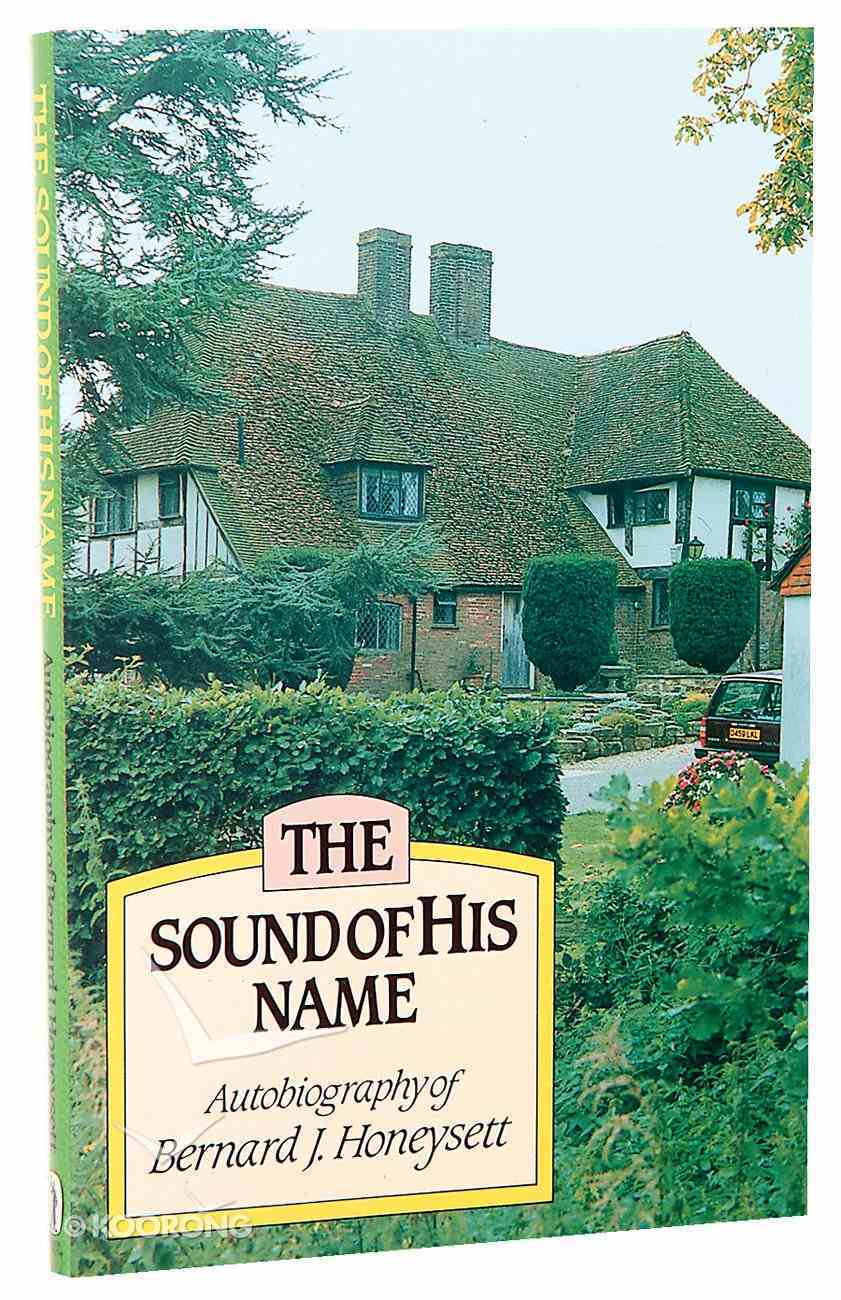 Sound of His Name Paperback
