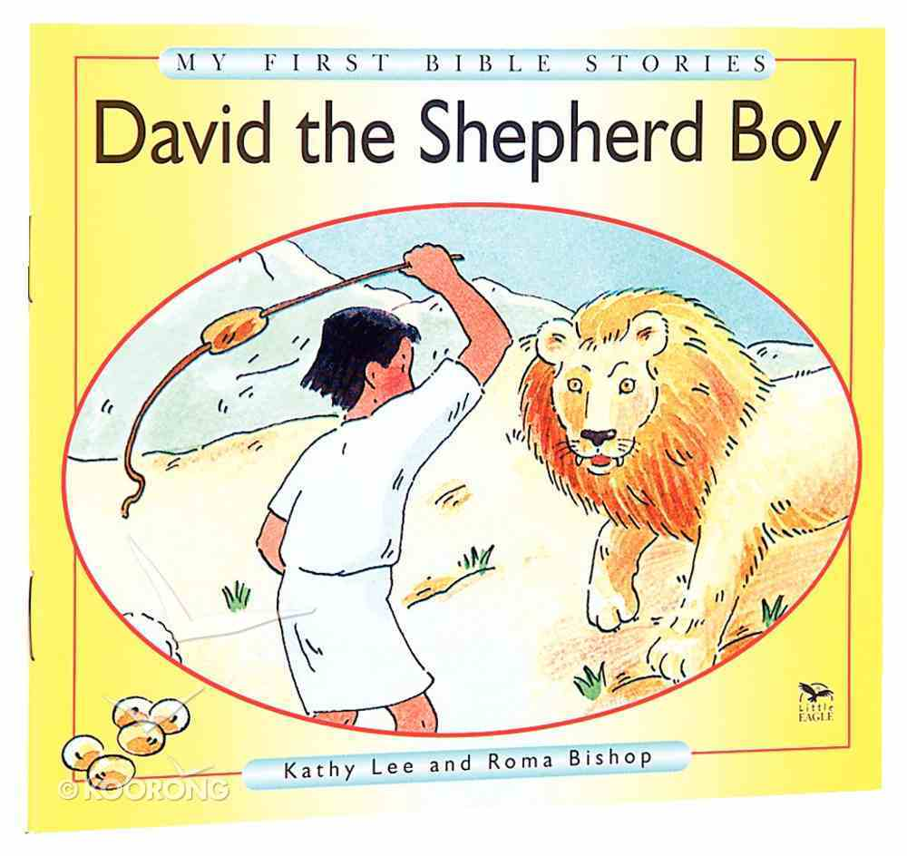 David the Shepherd Boy (My First Bible Story Series) Paperback