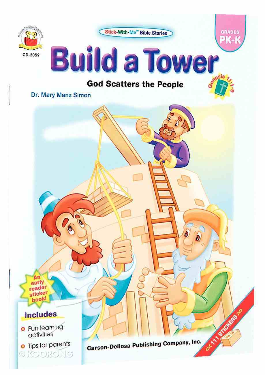 Stick-With-Me: Build a Tower (Stick-with-me Bible Stories Series) Paperback