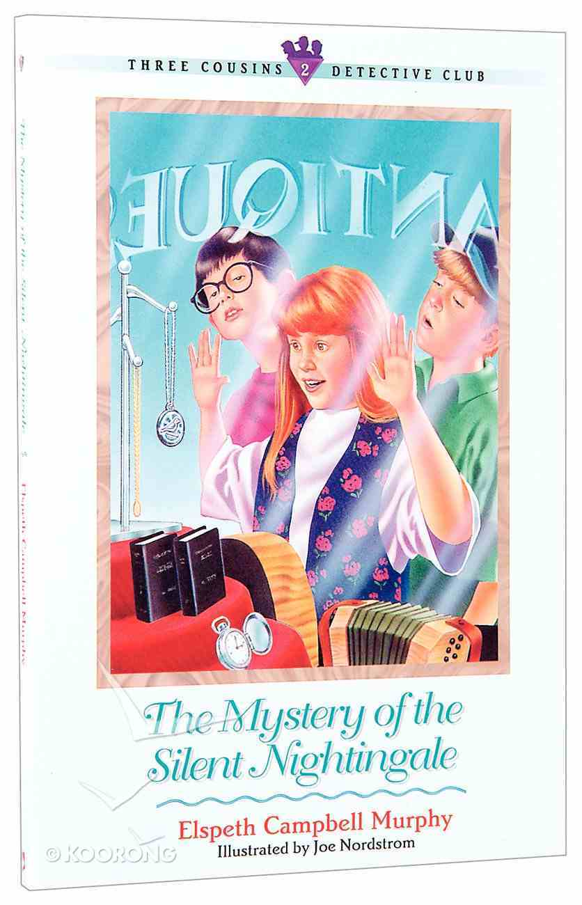 Mystery of the Silent Nightingale (#02 in Three Cousins Dc Series) Paperback