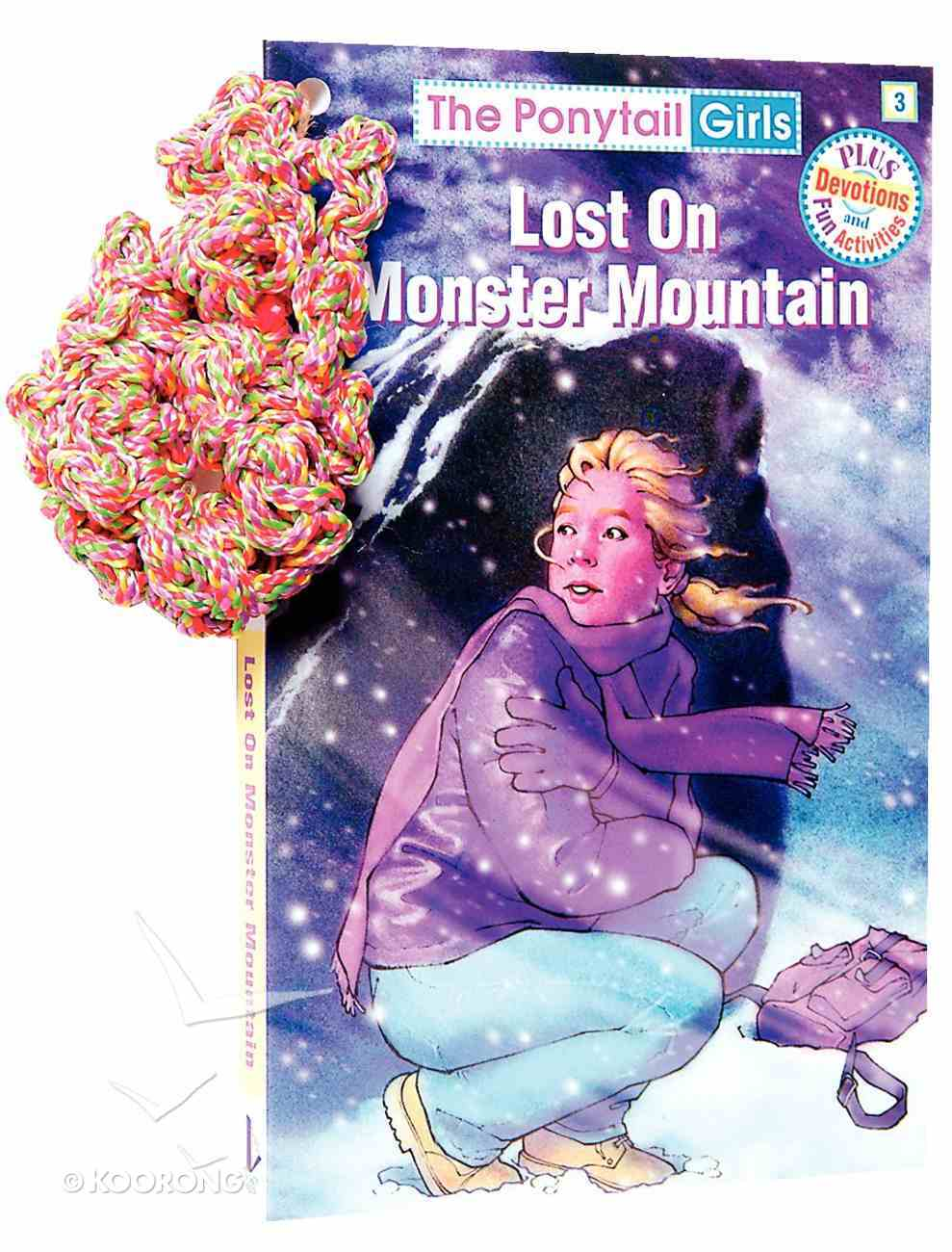 Lost on Monster Mountain (#03 in Ponytail Girls Series) Paperback