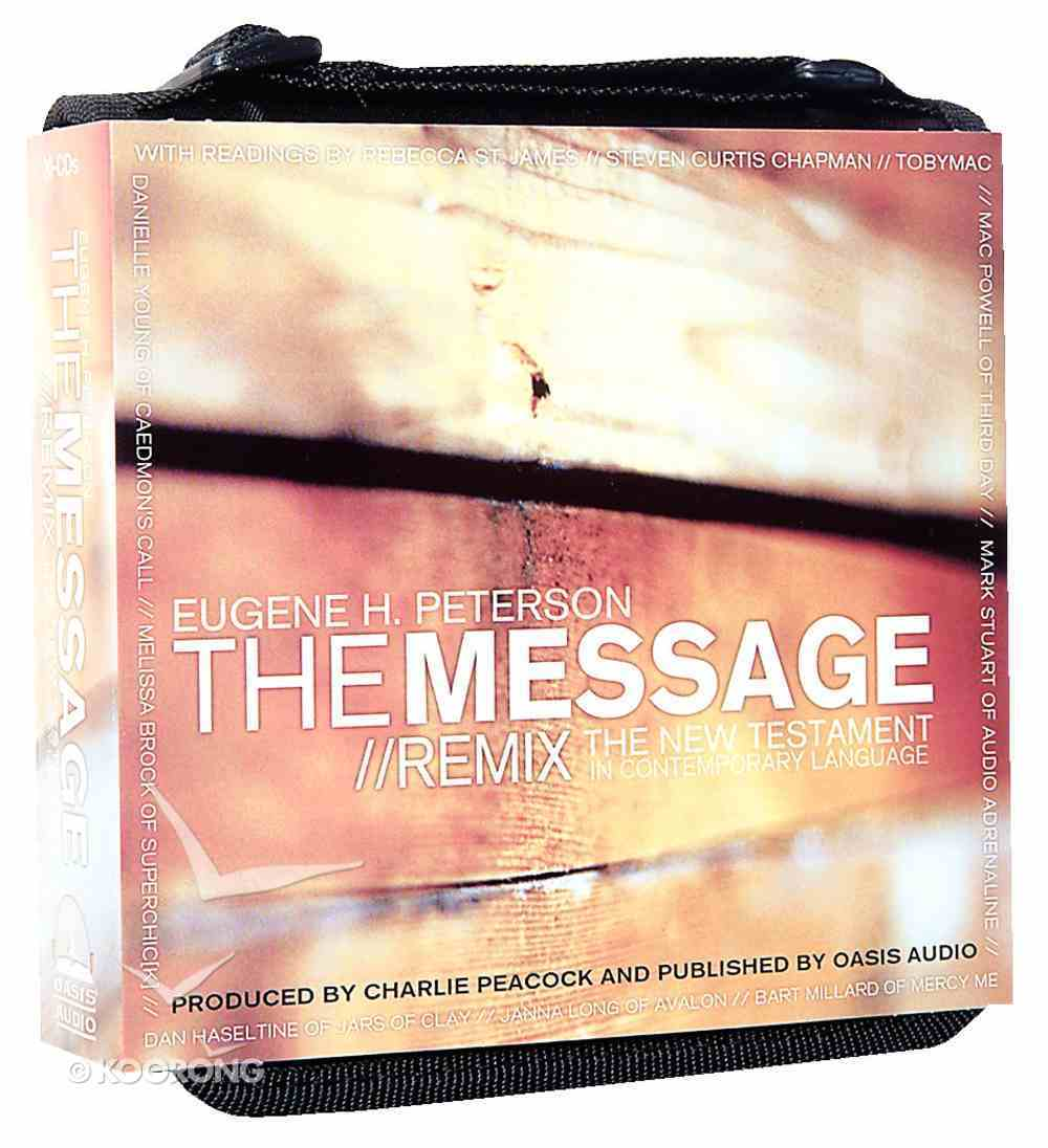 Message Remix New Testament on Audio Compact Disc CD