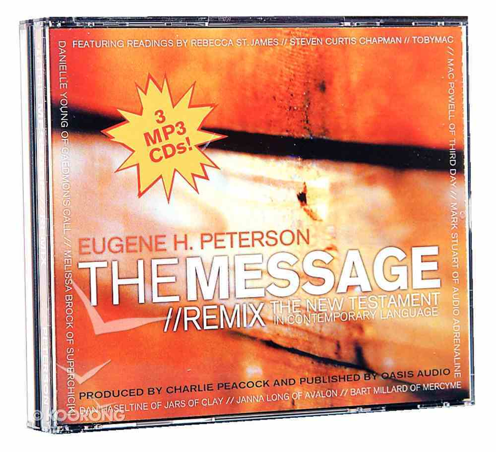 Message Remix New Testament on MP3 Compact Disc CD