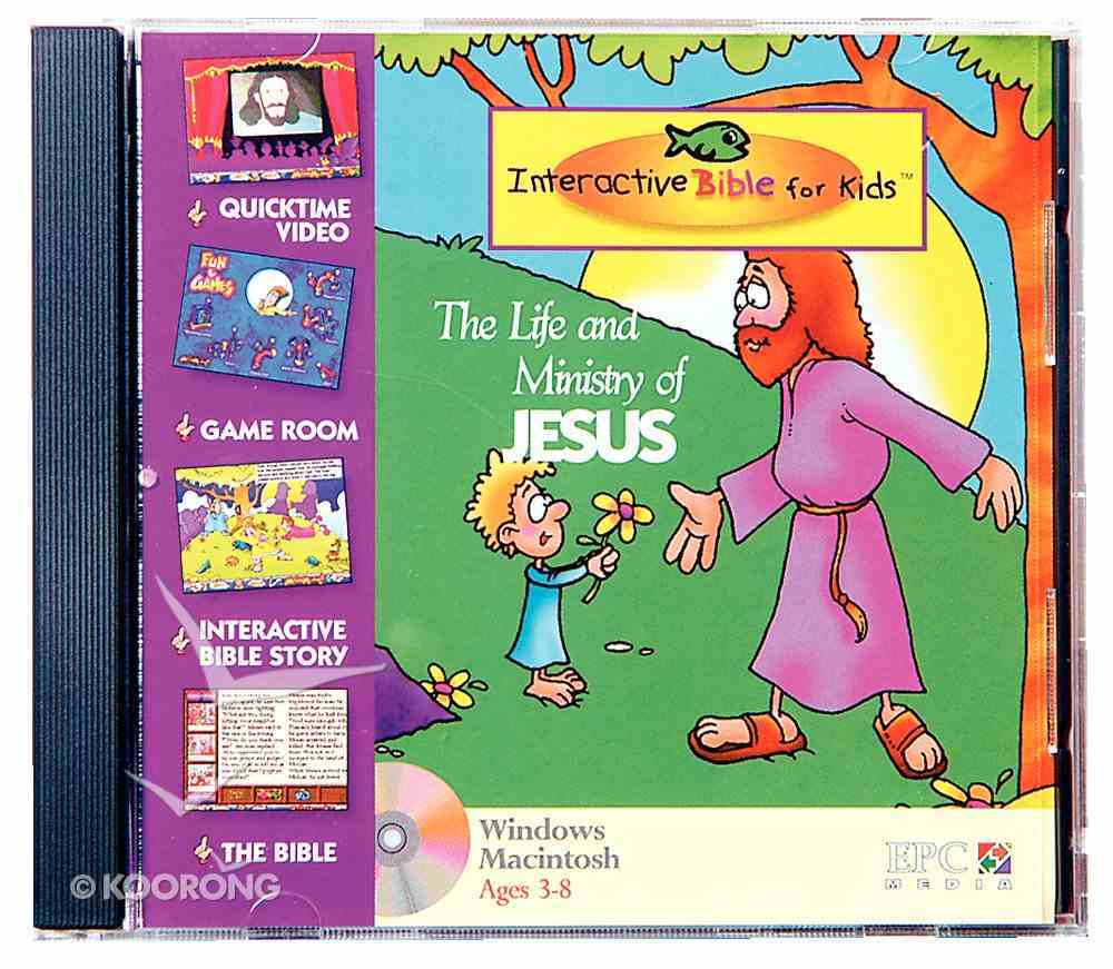 Kids Interactive Life and Ministry of Jesus CDROM CD-rom