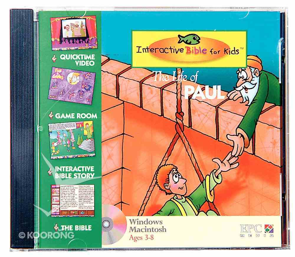 Kids Interactive Life of Paul CD-rom