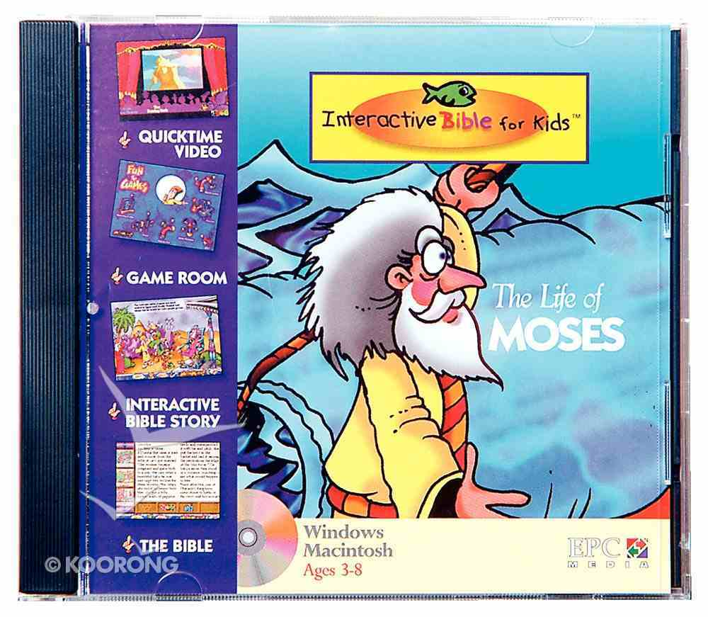 Kids Interactive Life of Moses CDROM CD-rom