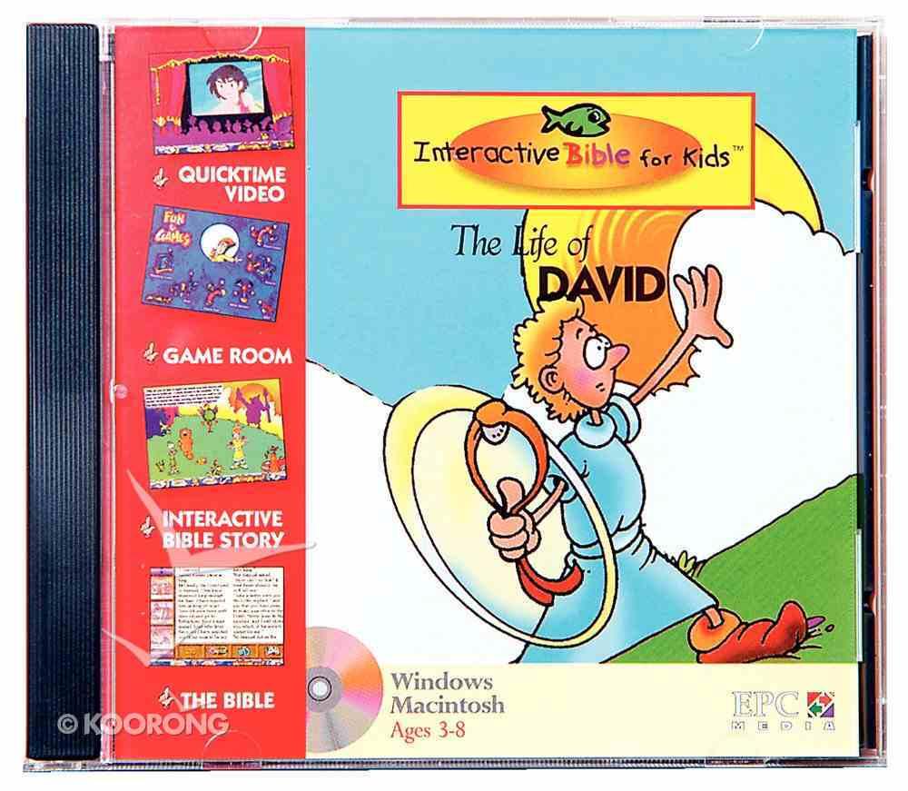 Kids Interactive Life of David CDROM CD-rom