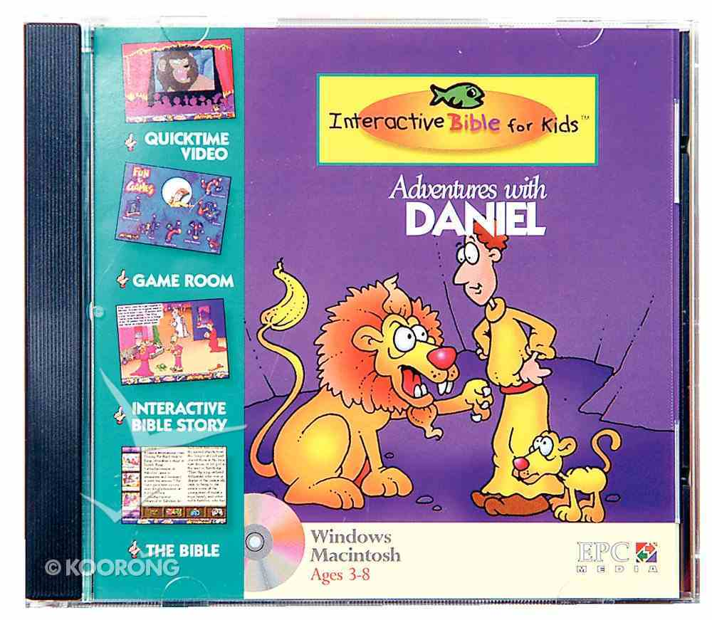 Kids Interactive Adventures With Daniel CDROM CD-rom