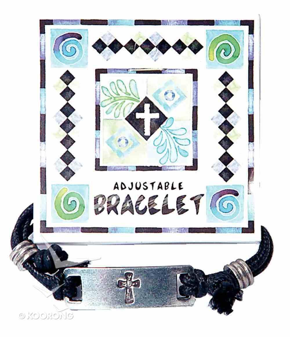 Cord Bracelet: Cross Jewellery