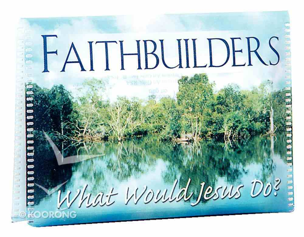 Faithbuilders: What Would Jesus Do Cards