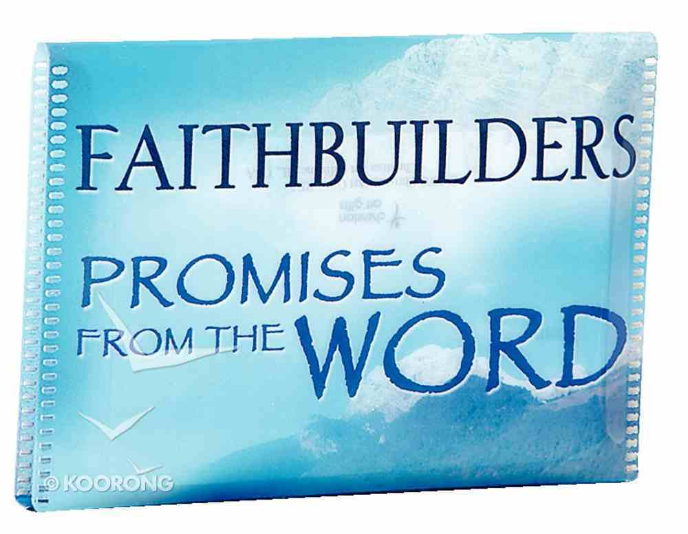 Faithbuilders: Promises From the Word Cards