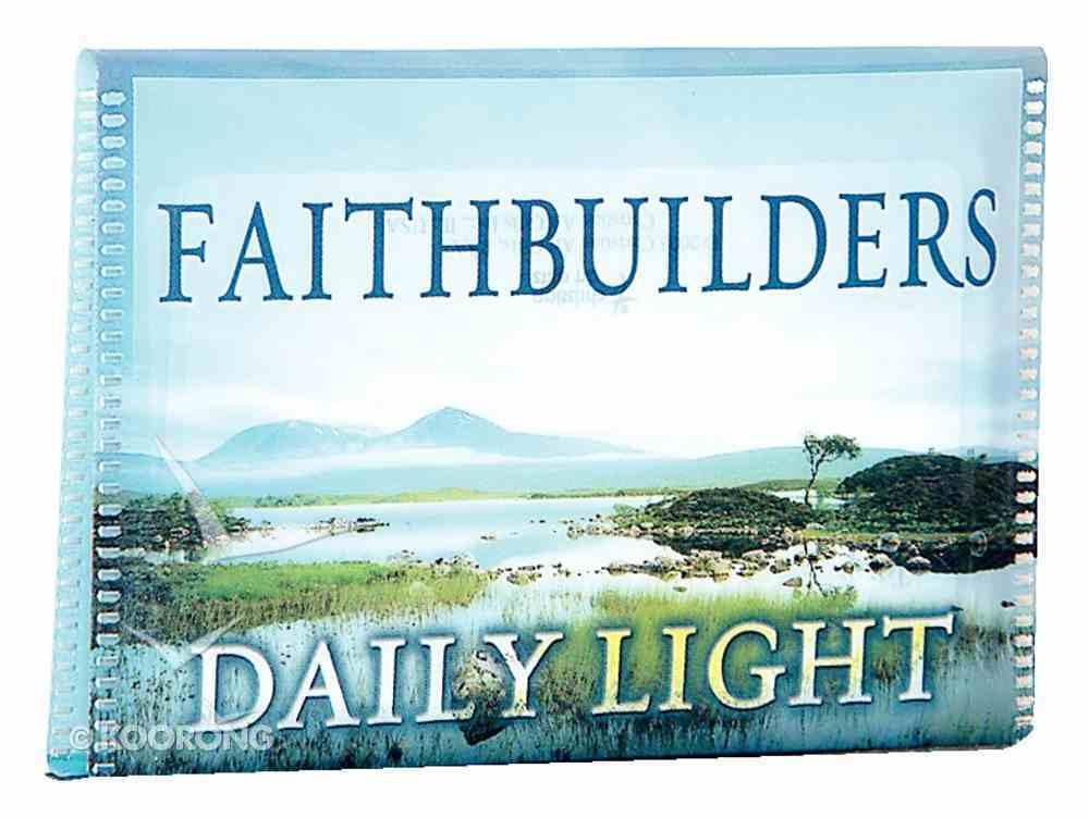 Faithbuilders: Daily Light Cards