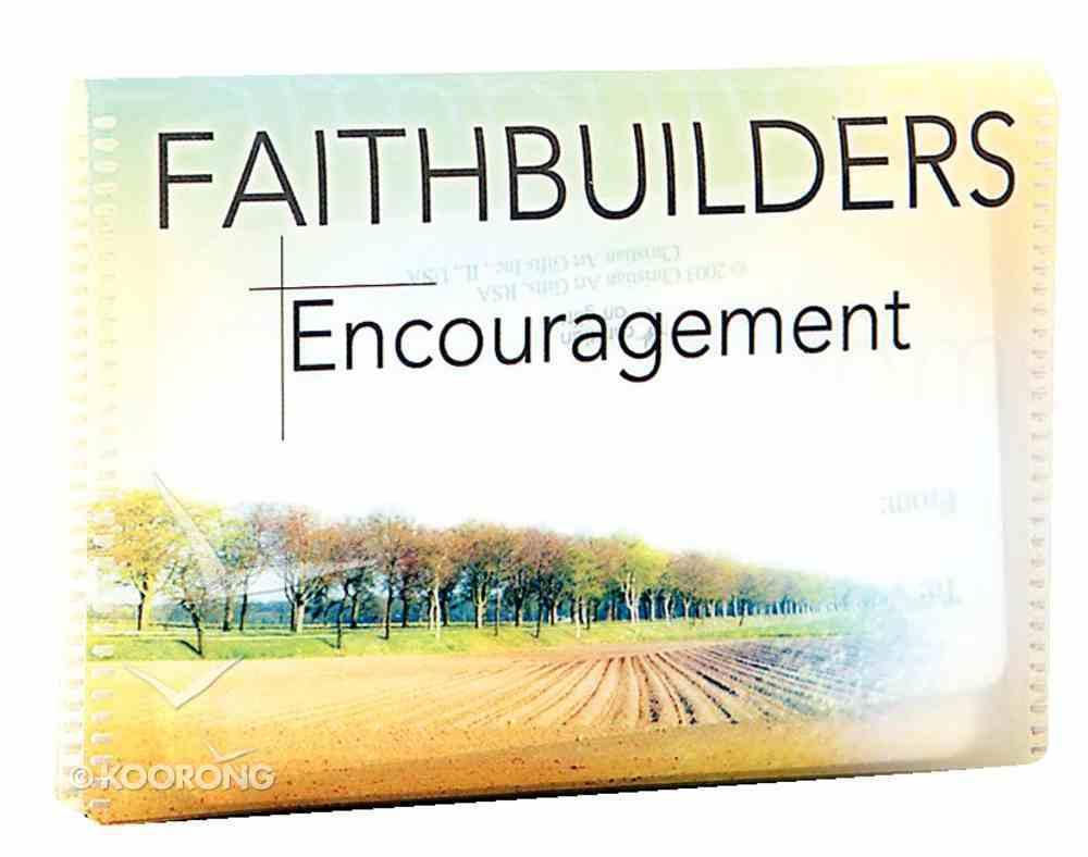Faithbuilders: Encouragement Cards