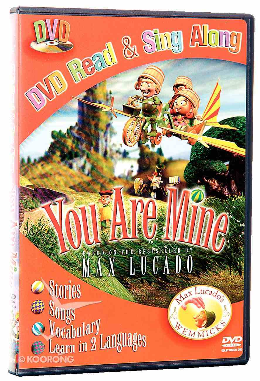 You Are Mine Read & Sing Along DVD