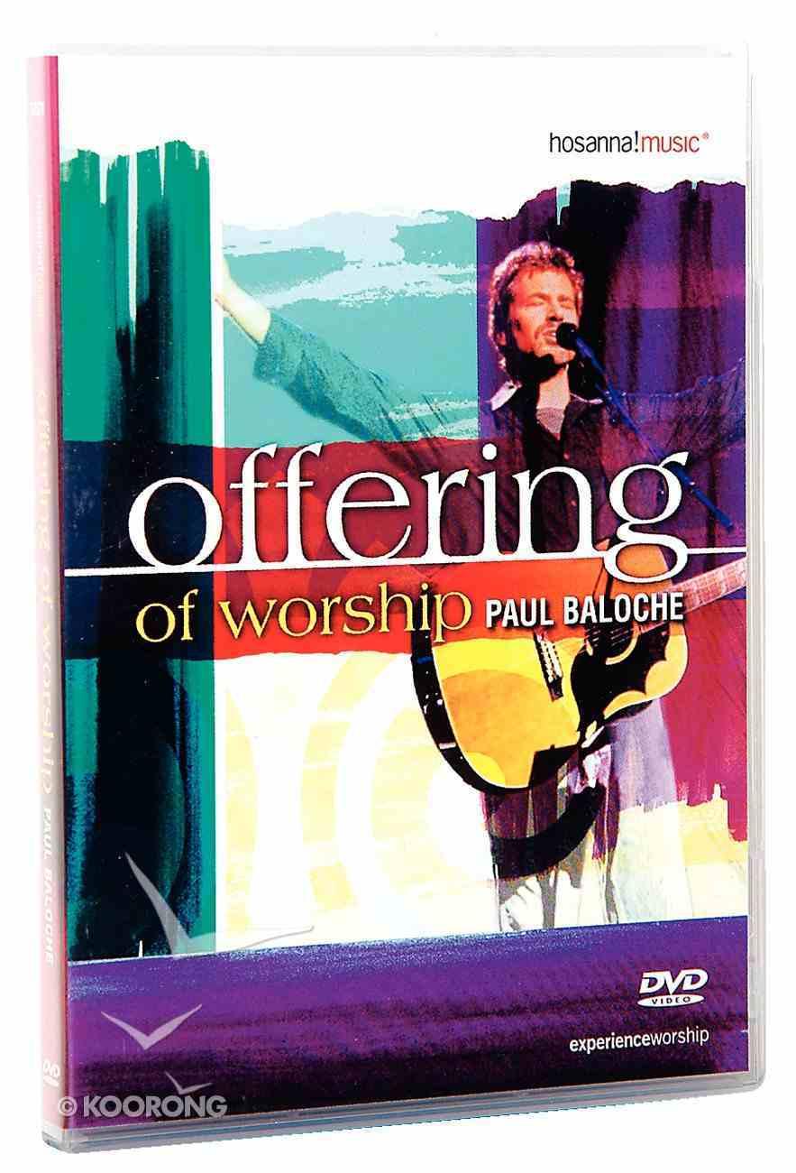 Offering of Worship DVD