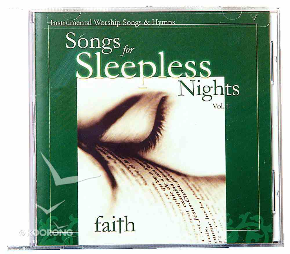 Faith (#01 in Songs For Sleepless Nights Series) CD