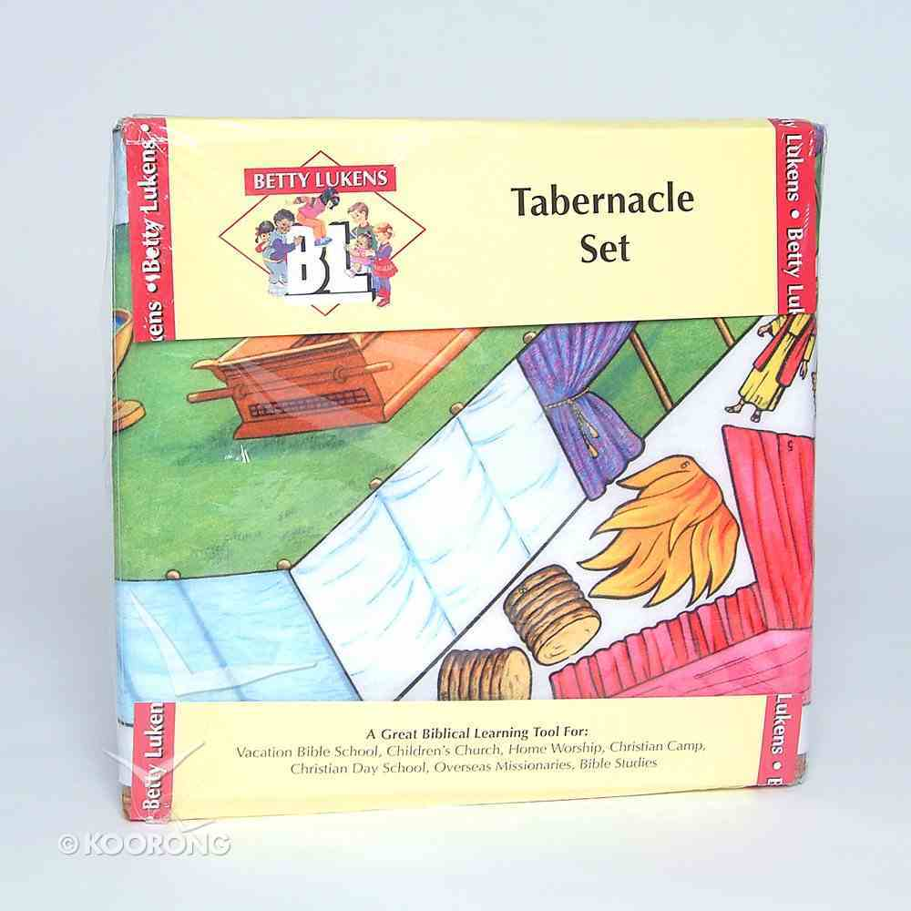 Lukens Tabernacle Set (12 Lessons) Flannelgraph