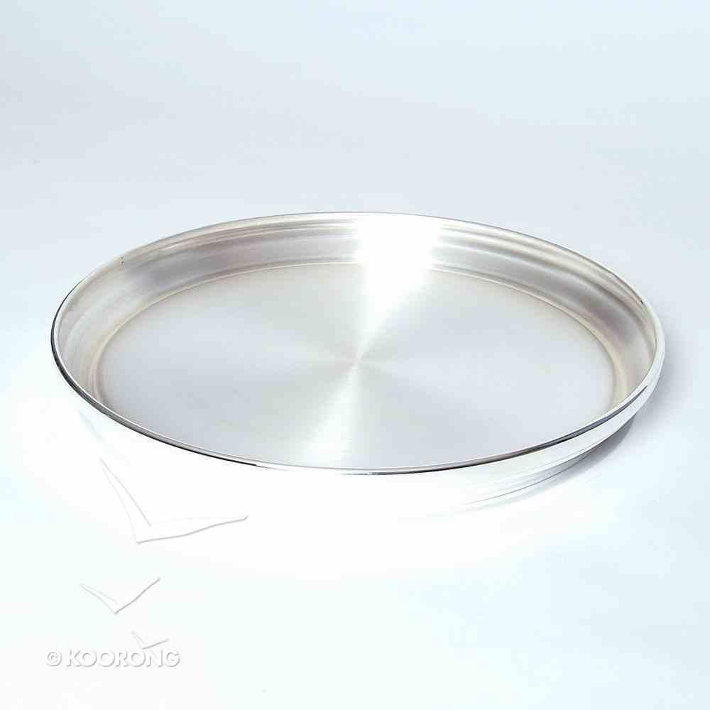 Communion Tray Base: Silverplate (Rw-402sp) (12 3/4') Church Supplies