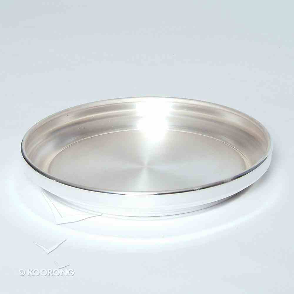 """Bread Plate: Stacking Base Silverplate (Rw-407sp) (8 1/4"""") Church Supplies"""