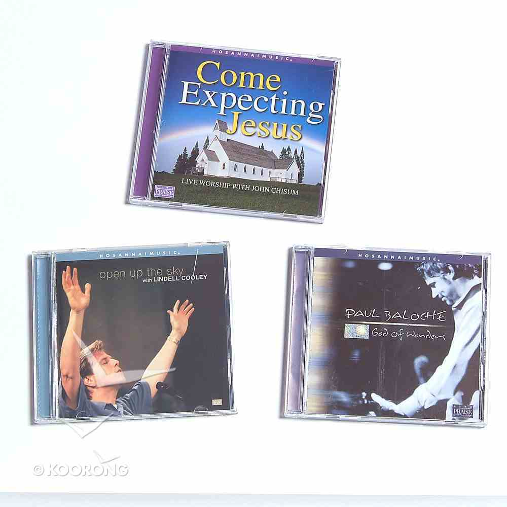 God of Wonders/Open Up the Sky/Come Expecting Jesus Pack CD