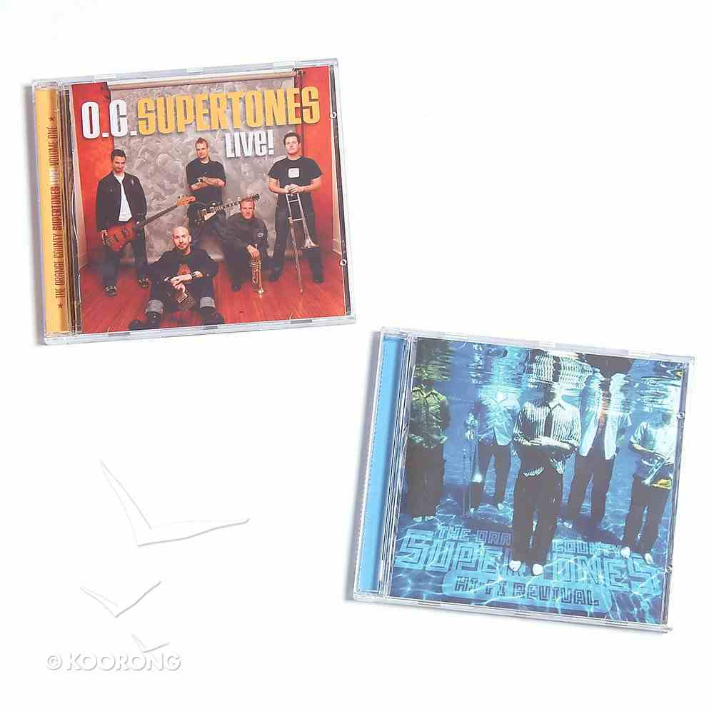 Supertones Live Volume 1 & Hi Fi Revival Pack CD