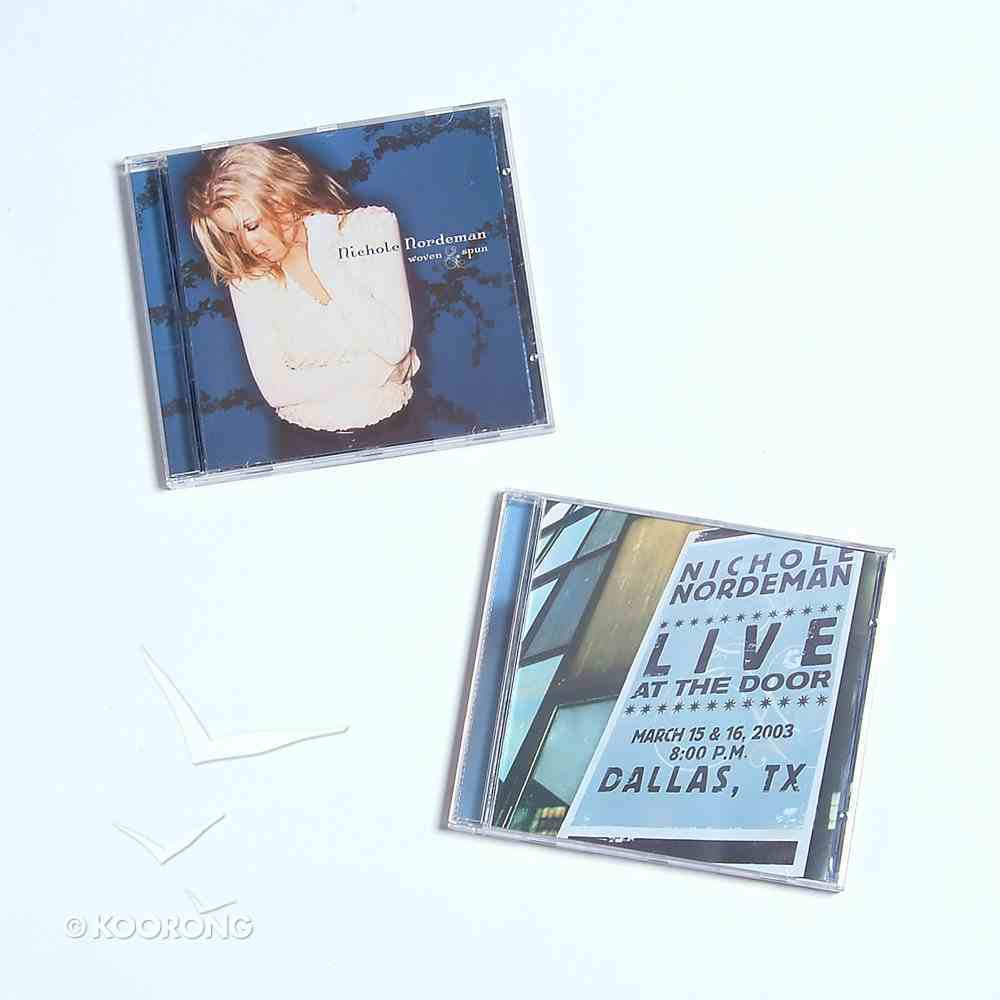 Woven and Spun & Live At the Door Pack CD