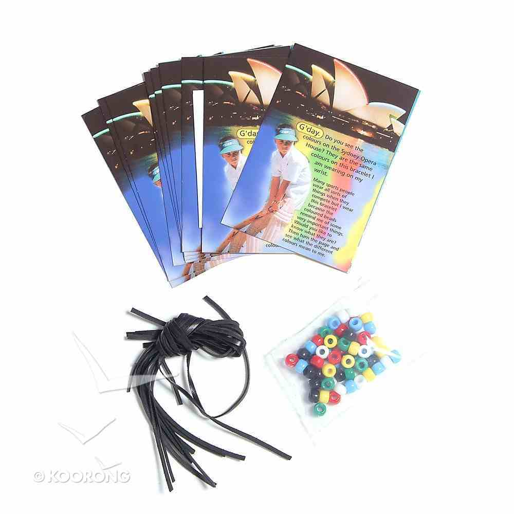 G'day Gospel Bracelet and Tract (10 Pack) Pack