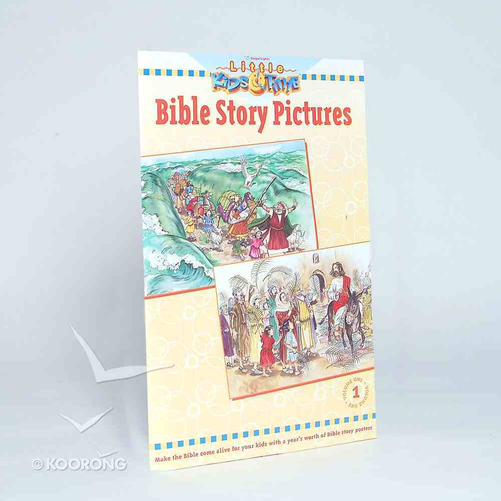 Little Kids Time: Bible Story Pictures (Volume 1) (Gospel Light Kids Time Series) Paperback