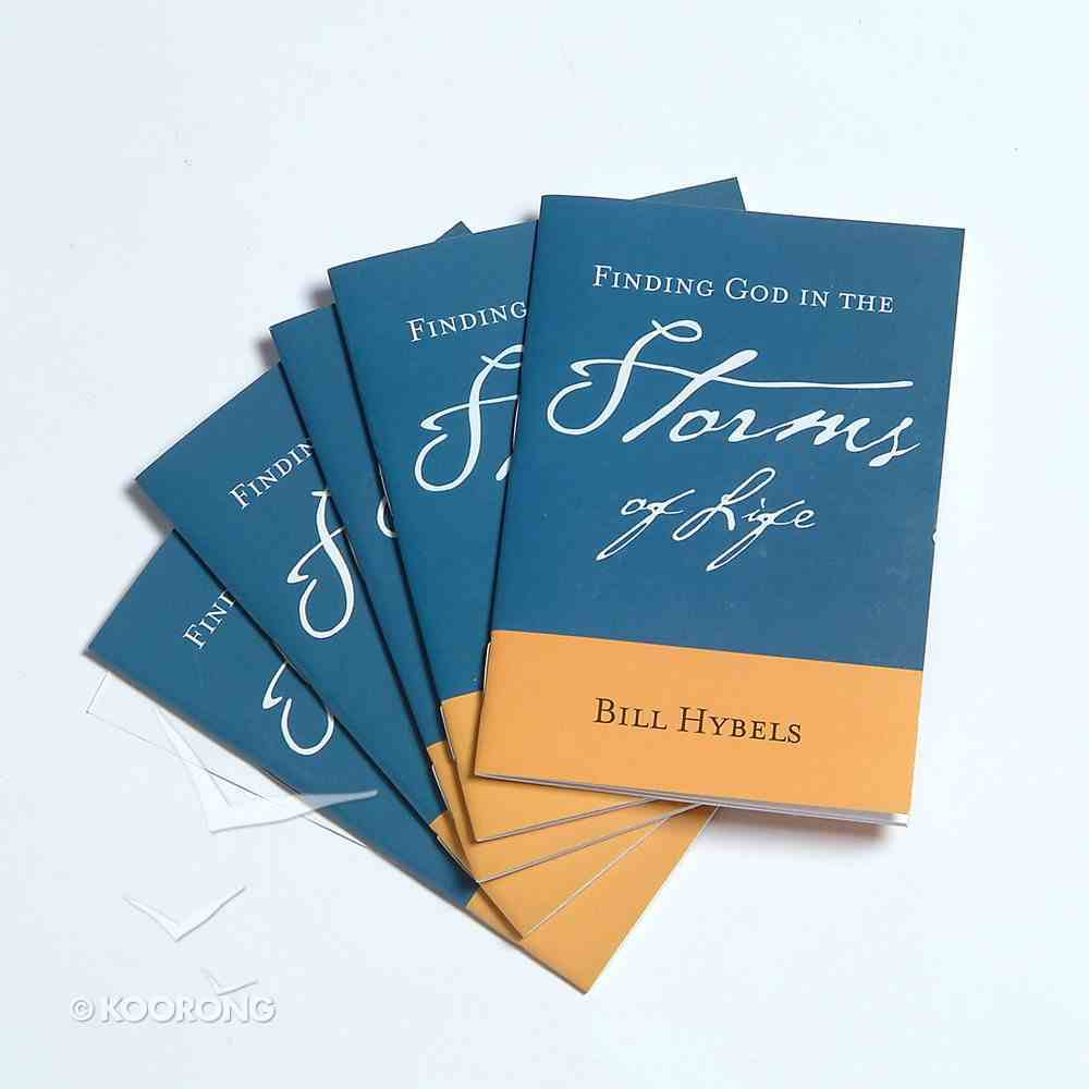 Finding God in the Storms of Life (5 Pack) Booklet